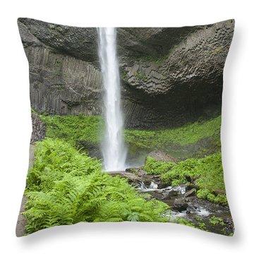 Latourelle Falls 4a Throw Pillow