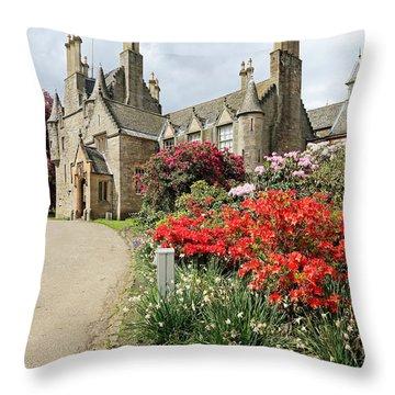 Lauriston Castle Throw Pillow