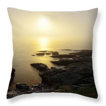 Limelight Of Beyond Throw Pillow