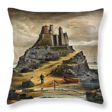 Lindisfarne 2 Throw Pillow