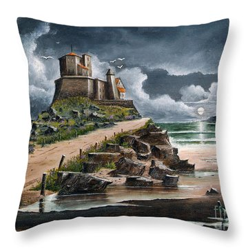 Lindisfarne Throw Pillow