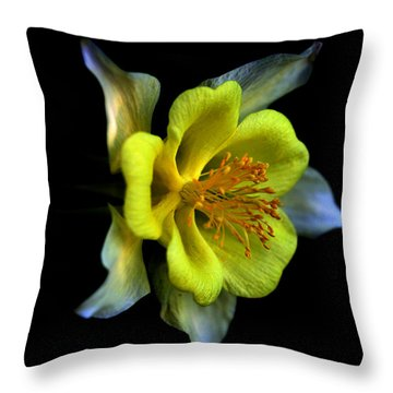 Listening Throw Pillow