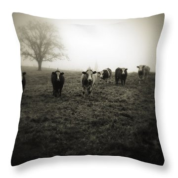 Livestock Throw Pillow