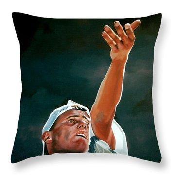 Lleyton Hewitt Throw Pillow