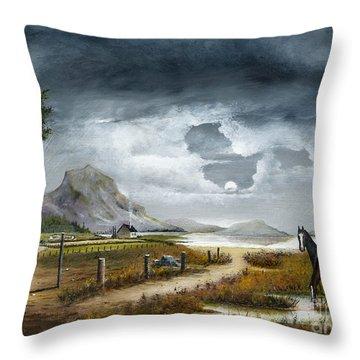Loch Lomand Throw Pillow