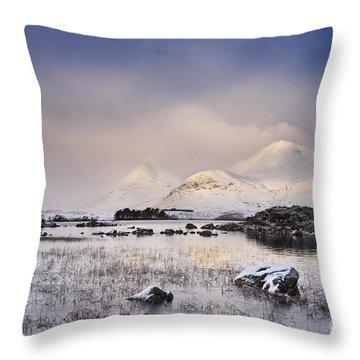 Rannoch Moor Throw Pillows
