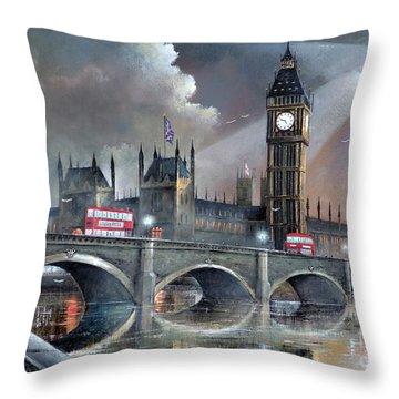 London Pride Throw Pillow