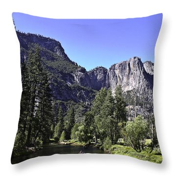 1 Lone Rafter Throw Pillow