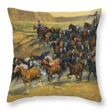 Roundup Throw Pillows