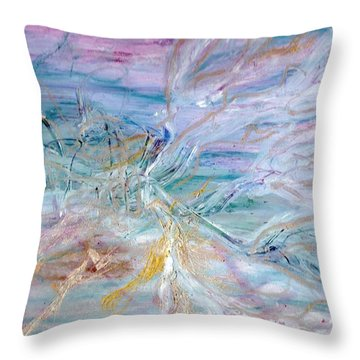 Lost Angel Throw Pillow by Lesley Fletcher