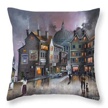 Ludgate Hill Throw Pillow