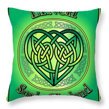 Lynch Soul Of Ireland Throw Pillow