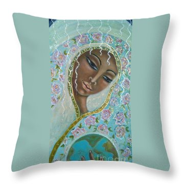 Ma -first Sound In The Universe Throw Pillow by Maya Telford