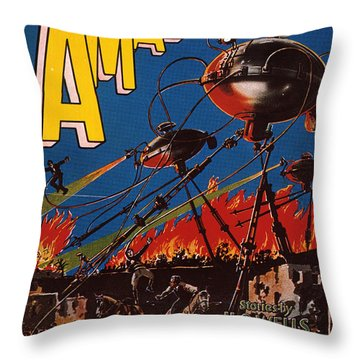 Magazine Cover 1926 Throw Pillow by Granger