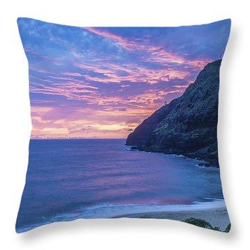 Makapuu Sunrise 2 Throw Pillow