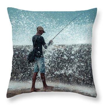 Malecon Throw Pillows