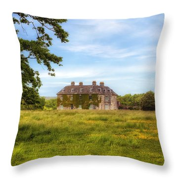 Mansion Throw Pillow