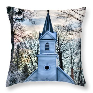Maria Chapel Throw Pillow by Paul Freidlund