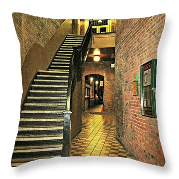 Market Square Throw Pillow