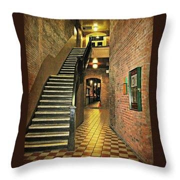 Market Square Throw Pillow