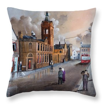 Market Street - Stourbridge Throw Pillow