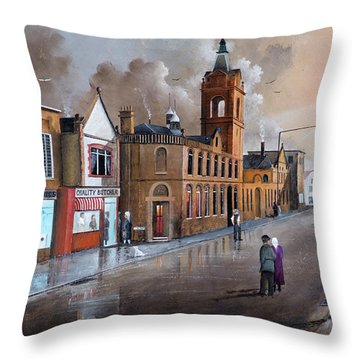 Market Street - Stourbridge Throw Pillow