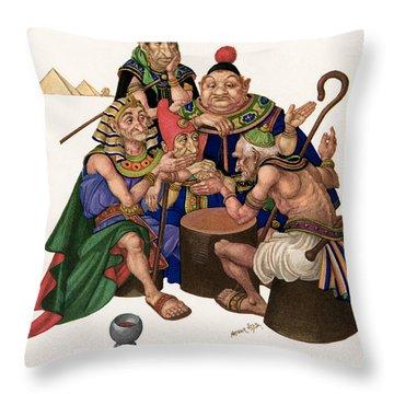 Marsh Kings Daughter Throw Pillow by Granger