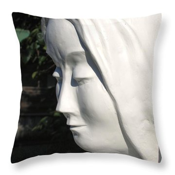 Mary 2009 Throw Pillow