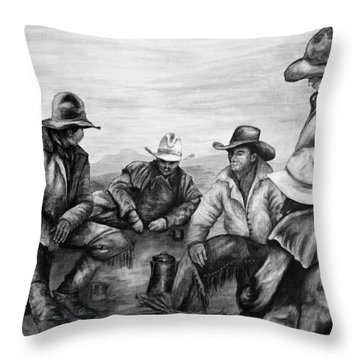 Matchless Throw Pillow