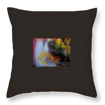 Memory Throw Pillow by Marija Djedovic