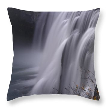 Mesa Falls Throw Pillow