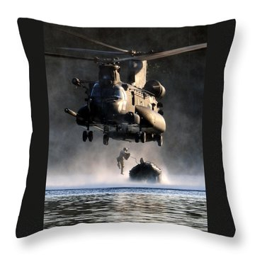 Stealth Throw Pillows