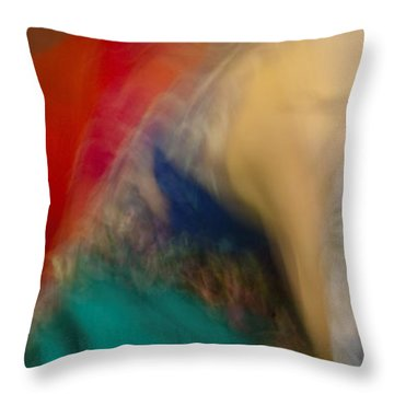 Mideastern Dancing Throw Pillow