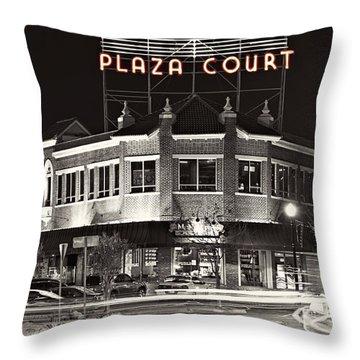 Midtown Plaza Throw Pillow