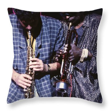 Miles Davis  Throw Pillow