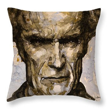 Million Dollar Baby Throw Pillow by Laur Iduc