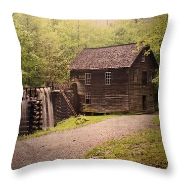 Mingus Mill Throw Pillow by Marty Koch
