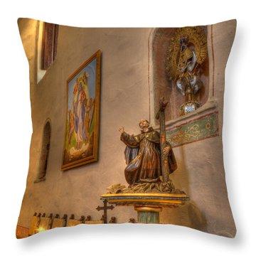 Mission San Diego De Alcala Throw Pillow