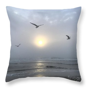 Throw Pillow featuring the photograph Moment Of Grace by LeeAnn Kendall