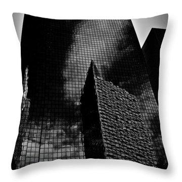 Monolith Throw Pillow by Mark Alder