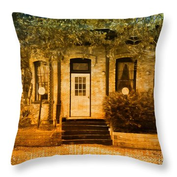 Montpelier Place Throw Pillow by Deborah Benoit
