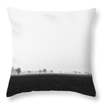 Moonland Throw Pillow