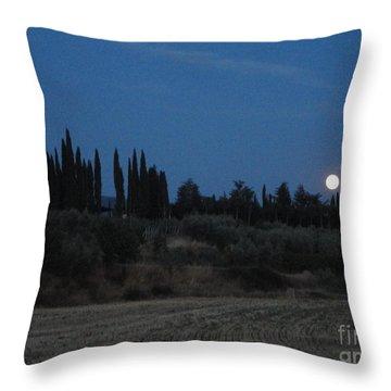 Moonshine In Arezzo Throw Pillow