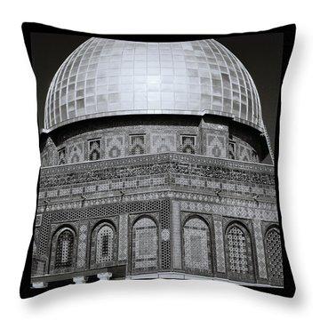 Jerusalem Mosaic Throw Pillow
