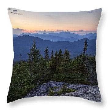 Mount Chocorua Scenic Area - Albany New Hampshire Usa Throw Pillow