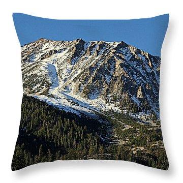 Mount Tom Throw Pillow