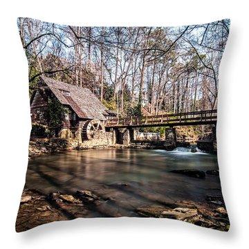 Mountain Brook Mill Throw Pillow