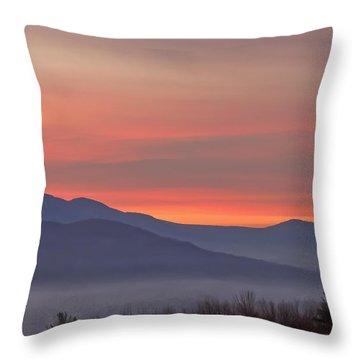 Mountain Sunrise 1 Throw Pillow