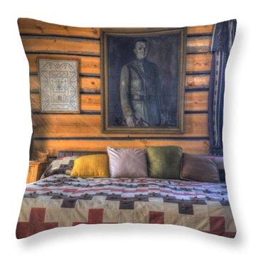 Mountain Sweet Throw Pillow by Juli Scalzi
