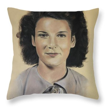 Mrs Crye Throw Pillow